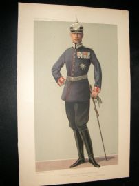 Vanity Fair Print 1905 Crown Prince of Germany
